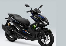 Yamaha Aerox R Monster Energy MotoGP