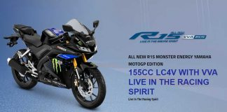 Yamaha R15 Monster Energy MotoGP 2019