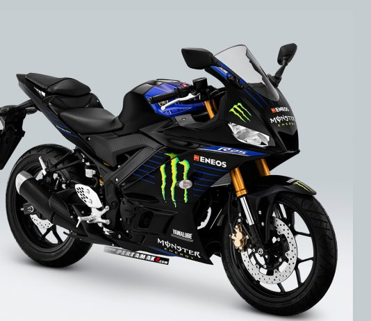Yamaha R25 Monster Energy MotoGP