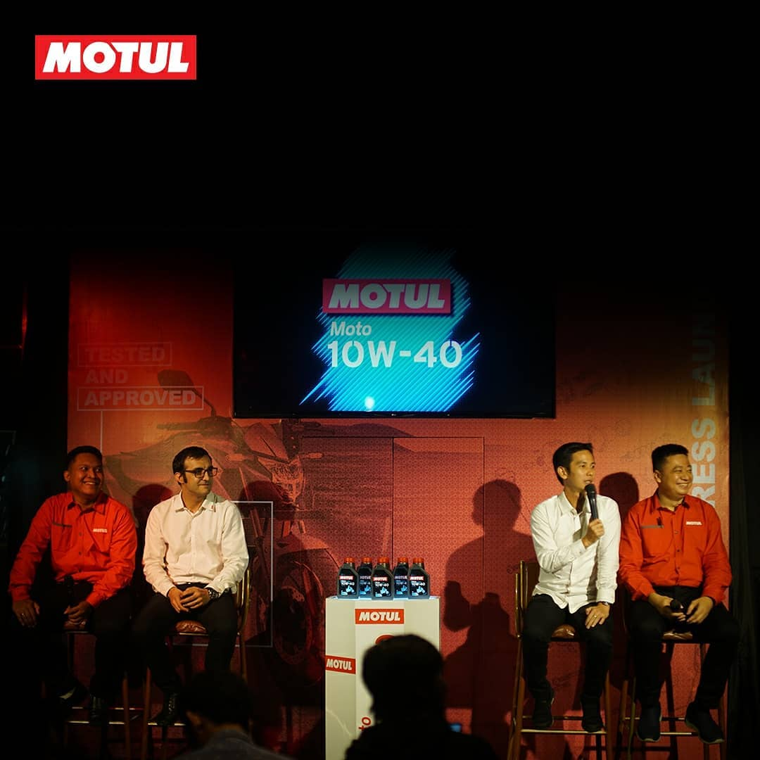 press conference oli motul terbaru moto4