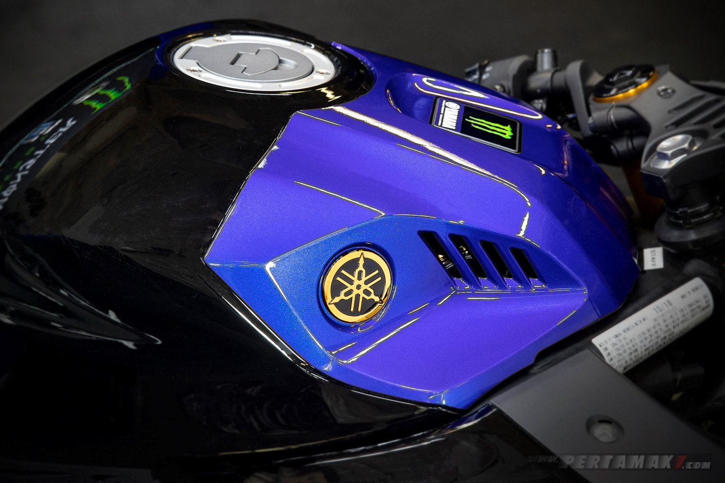 Fuel Tank Yamaha R3 Monster Energy
