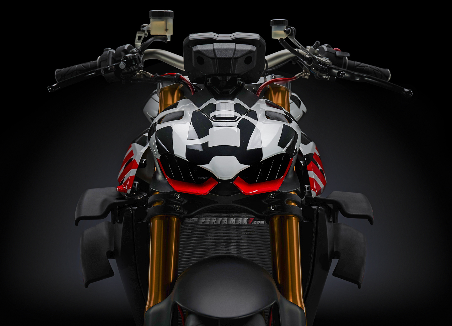 Gambaran Headlight Ducati Streetfighter V4 Headlamp