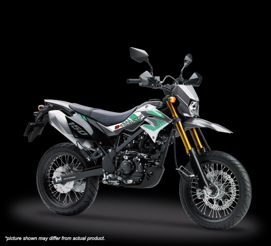 Kawasaki D-Tracker SE 2019 Warna Grey