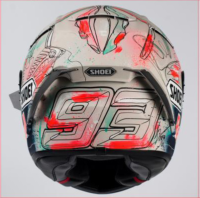 Marc marquez Signature Shoei MotoGP Catalunya 2019 By Dave Designs