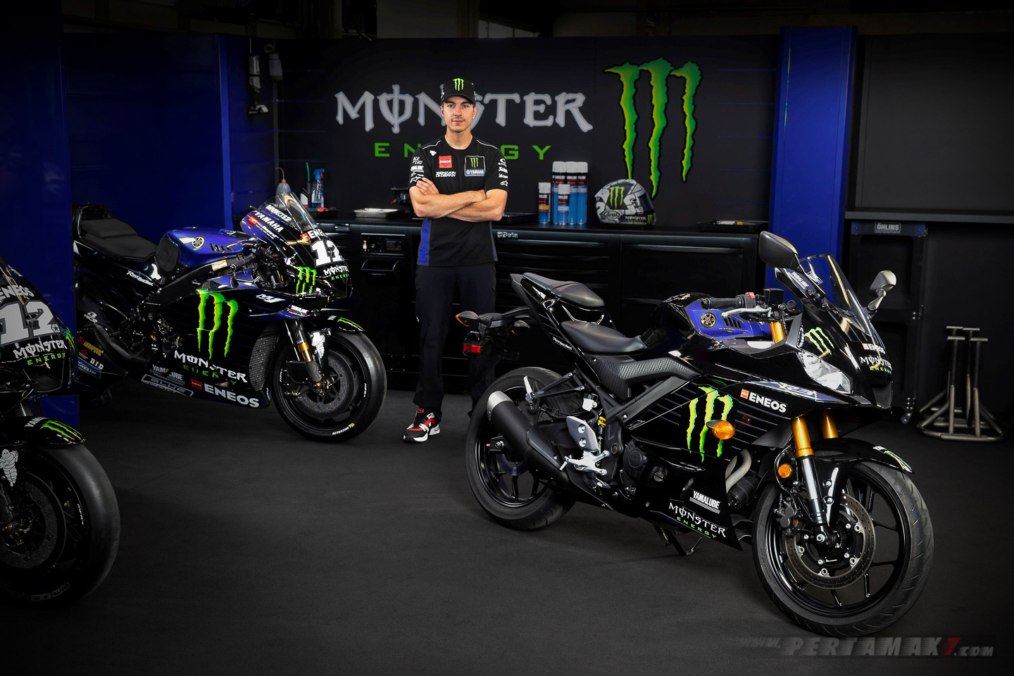 Yamaha R3 Monster Energy Vinales