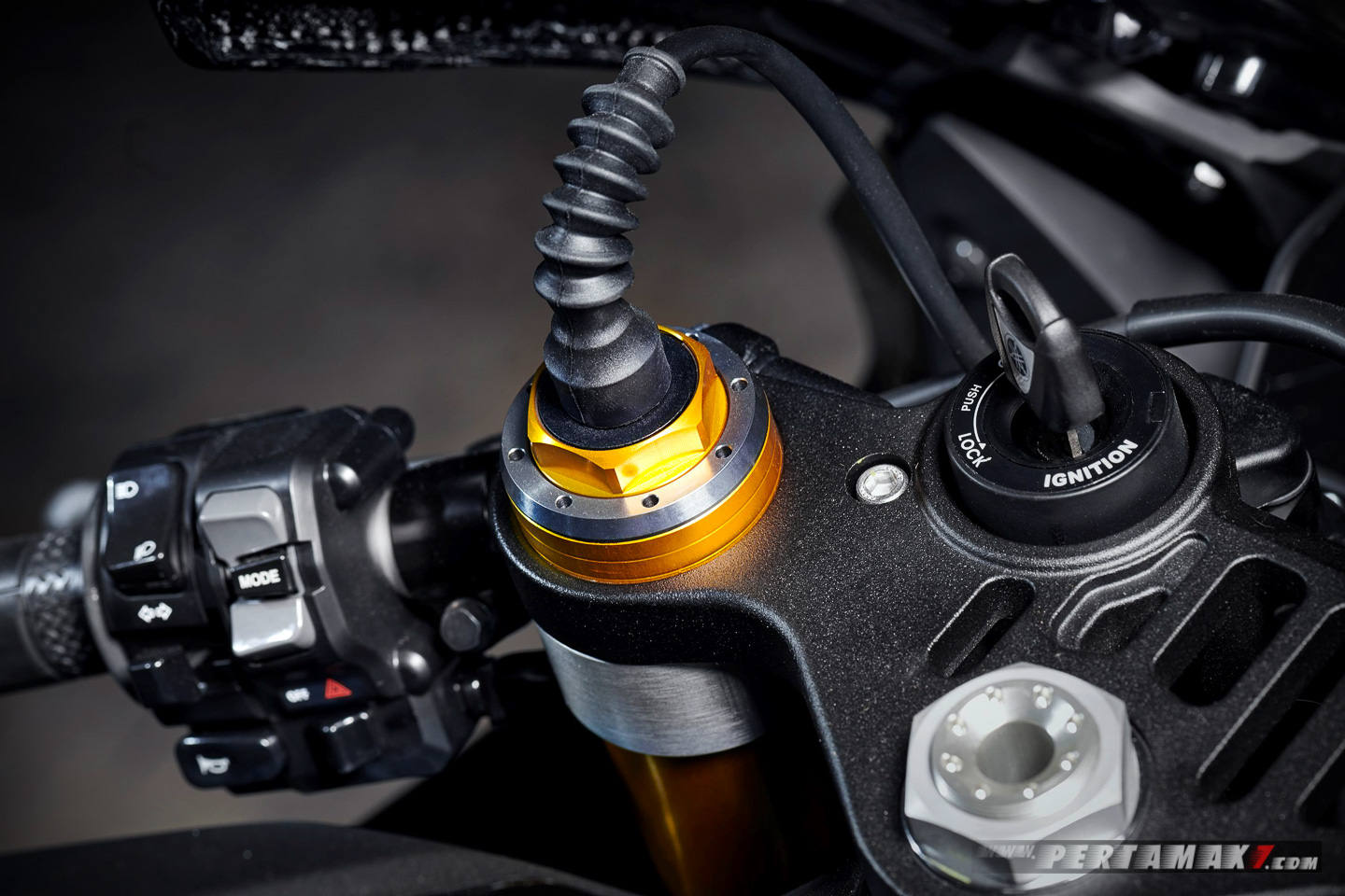 Öhlins Electronic Racing Suspension NPX fork Yamaha YZF-R1M 2020
