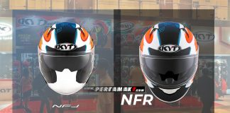 Helm KYT NFJ Open Face VS KYT NFR Full face