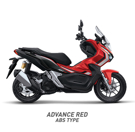 Honda ADV 150 ABS Warna Merah Advance Red