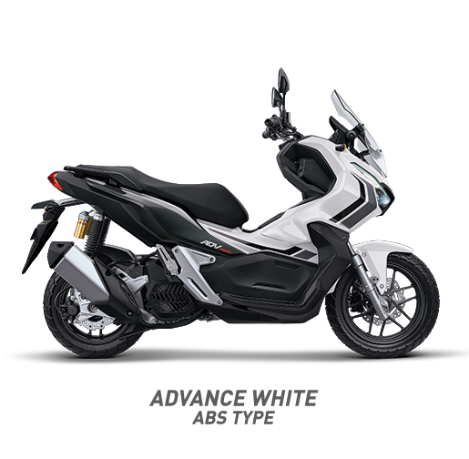 Honda ADV 150 ABS Warna Putih Advance White