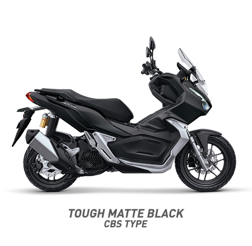 Honda ADV 150 CBS Warna Tough Matte Black