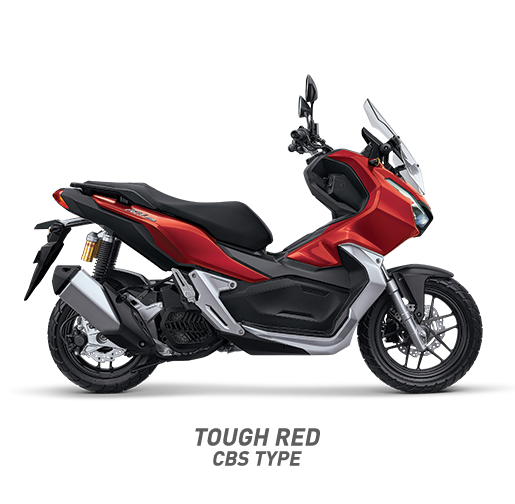 Honda ADV 150 CBS Warna Tough Matte Red