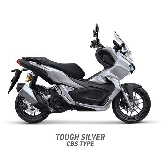 Honda ADV 150 CBS Warna Tough Silver