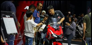 Honda ADV Giias Favorite Motorcycle Visitor Choice