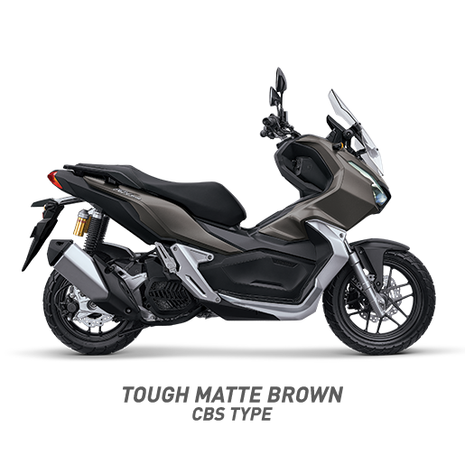 Honda ADv 150 Warna Tough Matte Brown