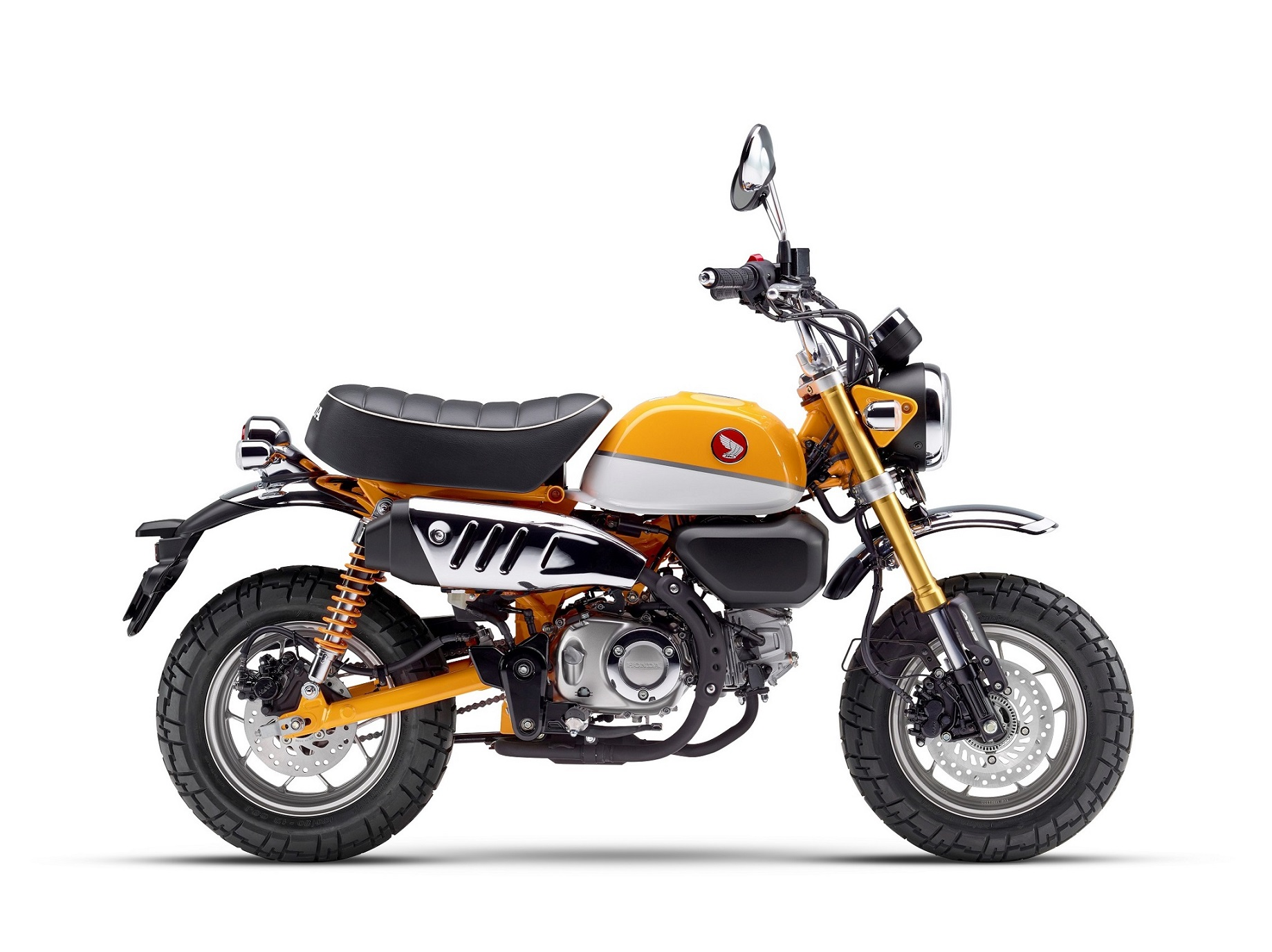 Honda Monkey 125 ABS Warna Kuning Banana Yellow Indonesia