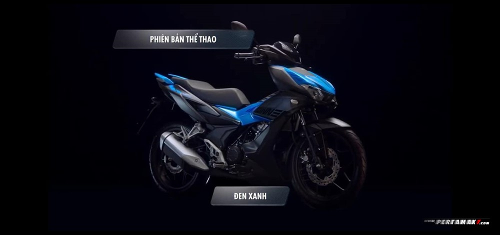 Honda Winnner X 150 MASTER VERSION Warna Black Blue CBS
