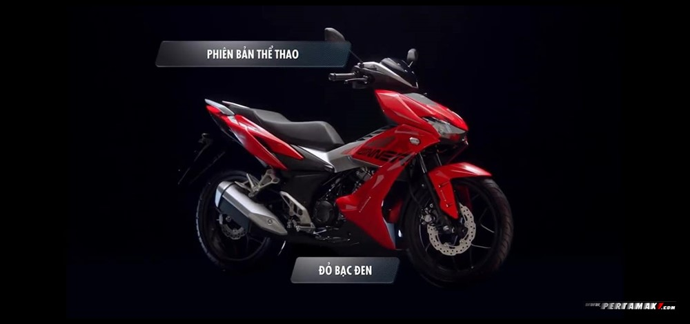 Honda Winnner X 150 MASTER VERSION Warna RED SILVER CBS