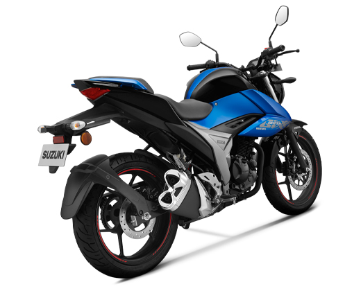 New Suzuki Gixxer 155 My2019 warna biru