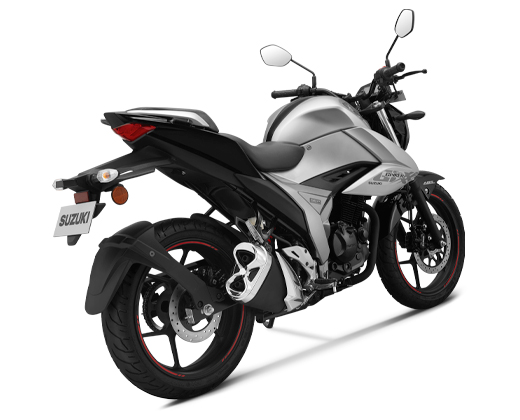 New Suzuki Gixxer 155 My2019 warna silver