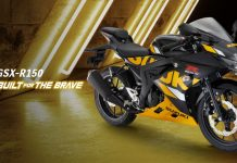 Suzuki GSX-R150 Built For The Brave