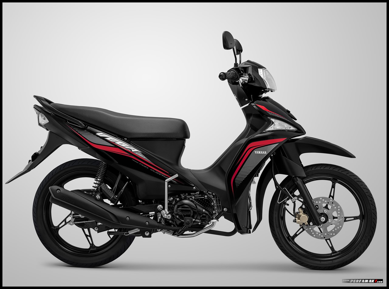 Vega Force Metallic Black Hitam
