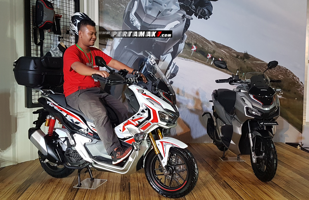 Video Testride Honda ADV 150