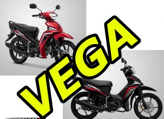 Warna Baru Yamaha Vega Force