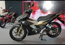 Warna Honda Winnner X 150 Vietnam GOLD
