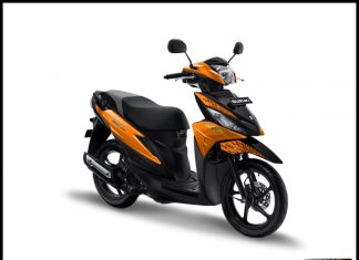Warna Suzuki Address Playful 2 Orange