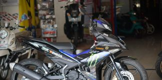 tampak kanan Yamaha MX KING Monster Energy MotoGP