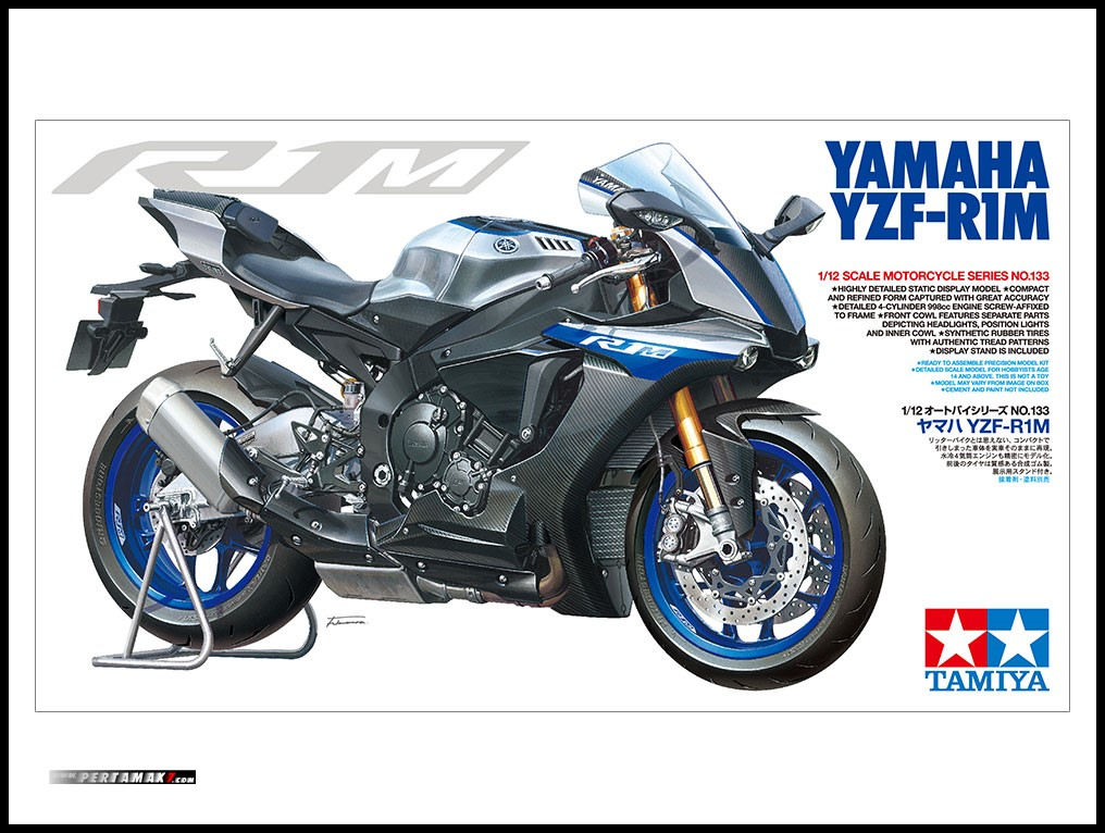TAMIYA YAMAHA R1M Model Scale