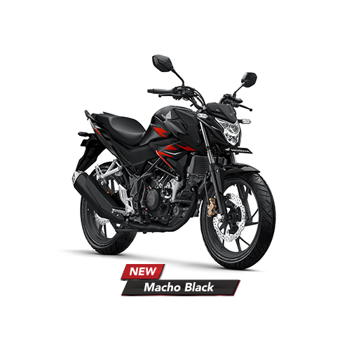 Warna Baru Honda CB150R Versi 2019 New Macho Black