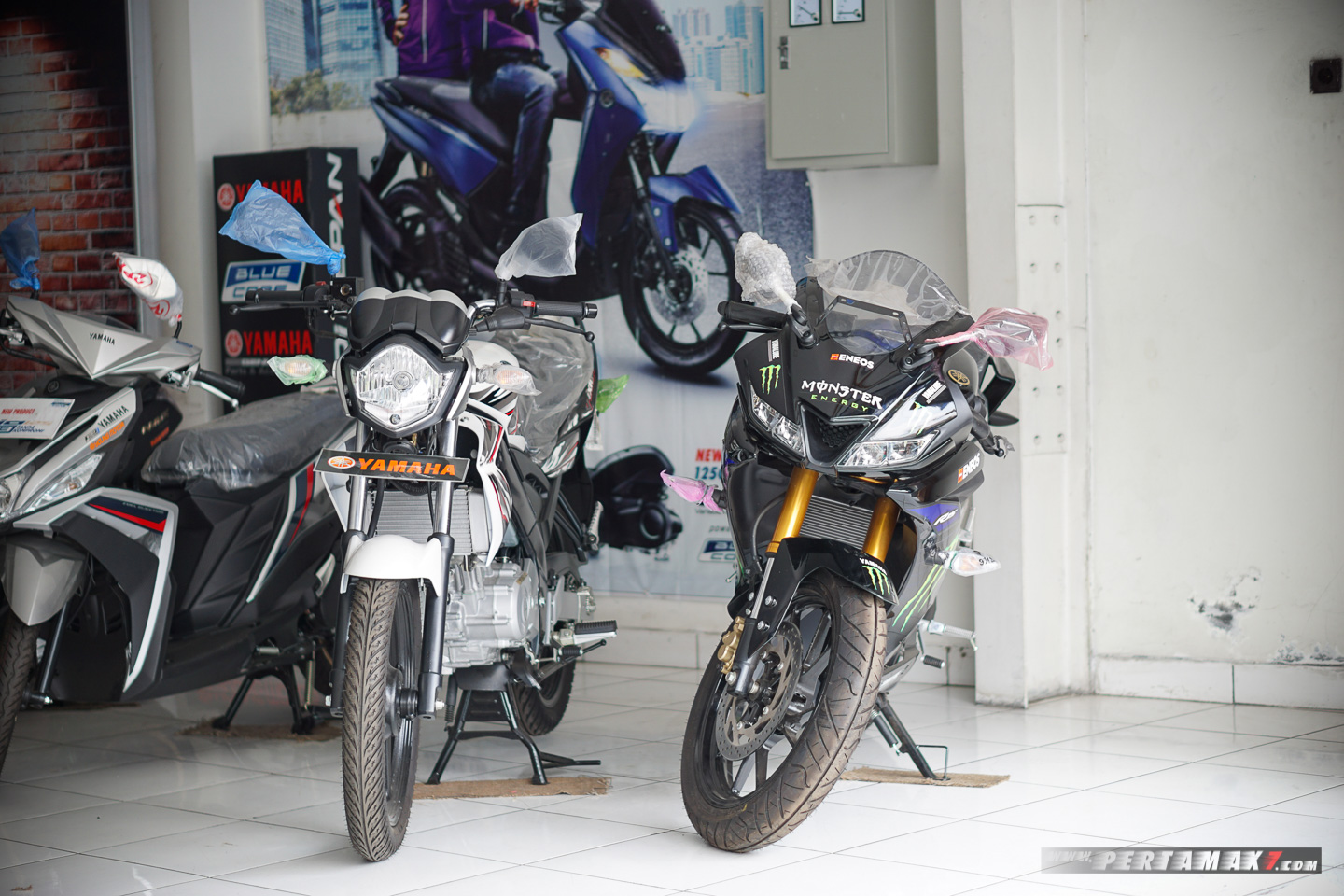 Yamaha Old Vixion 2015 New Old Stock