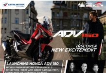 world premier touring honda adv 150 Bali