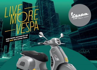 Launching Vespa GTS Super Tech 300 Indonesia Harga
