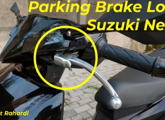 Parking Brake Lock Suzuki Nex II Address