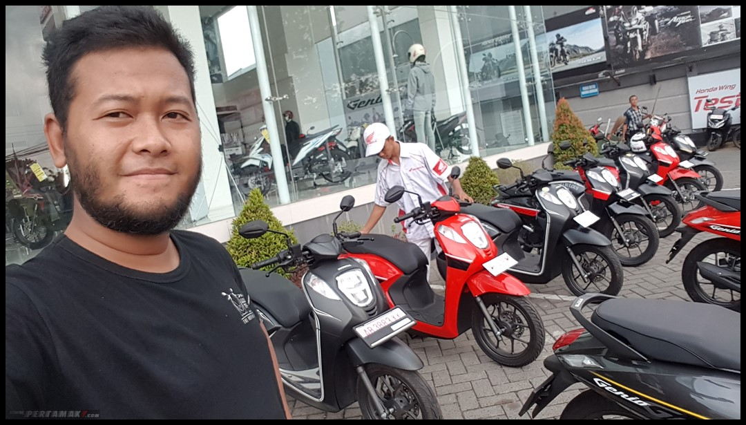 Review Honda Genio 110 Touring Jogja
