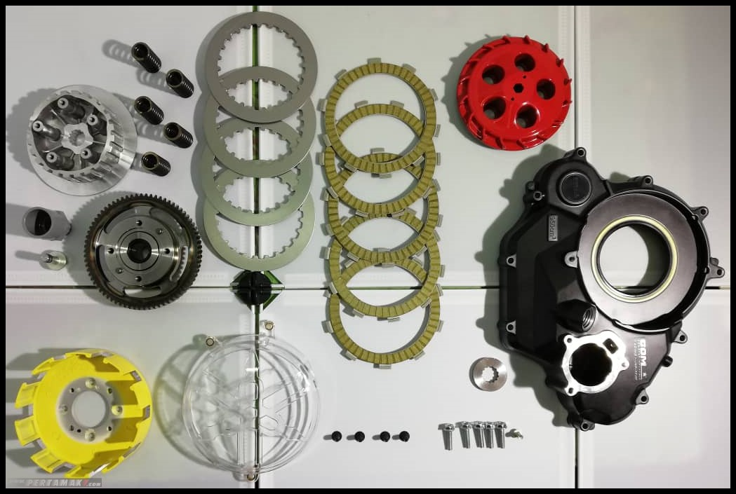 Satu Set Conversion Kit Dry Cluth Yamaha MX KING Kopling Kering