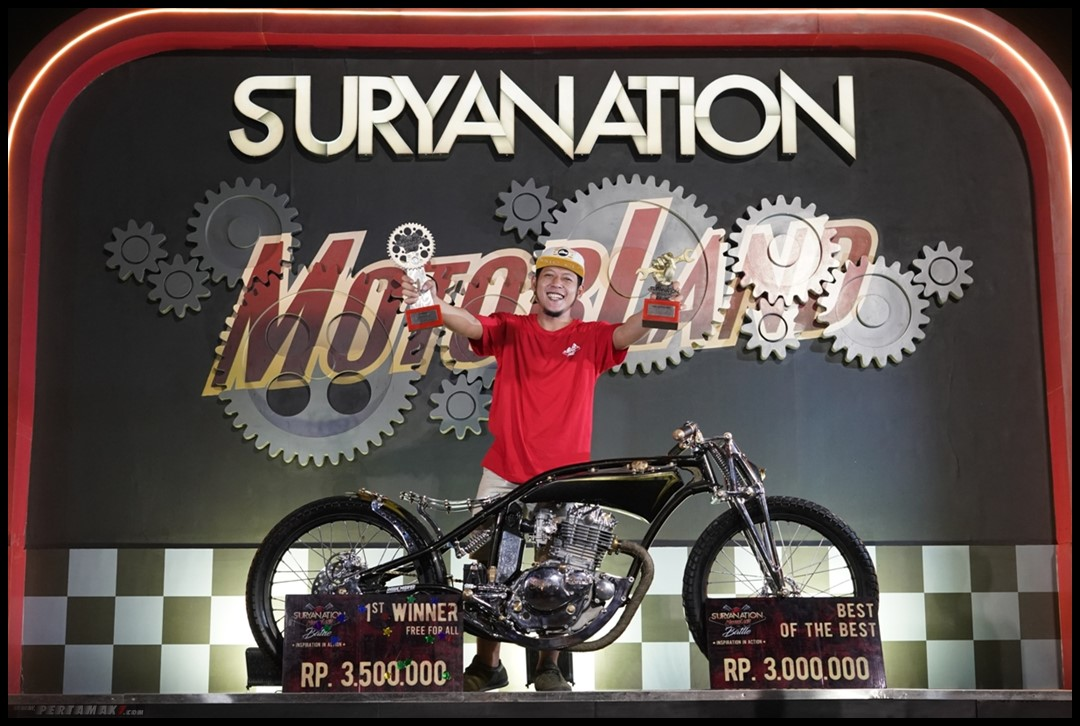 juara Best of The Best Suryanation Bali Suzuki Thunder 250