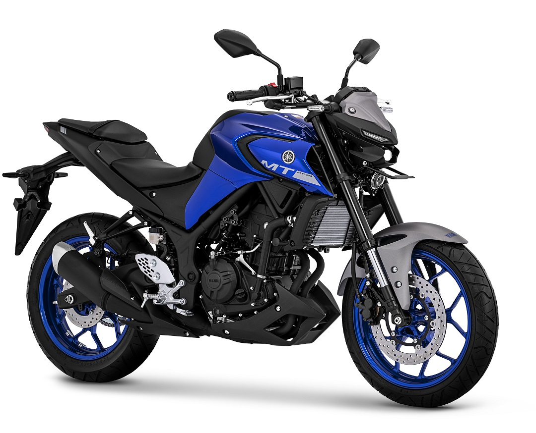 2020 Yamaha New MT25 Warna Biru Metallic-Blue