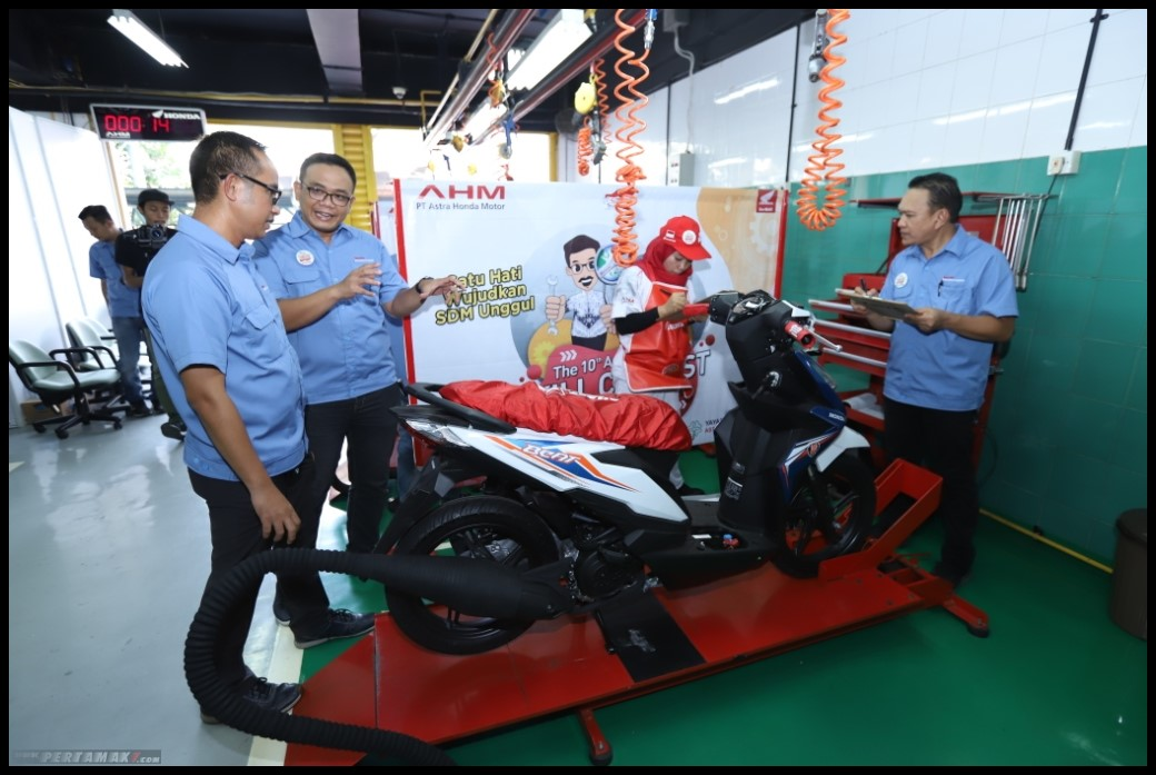 Astra Honda Skill Contest for Vocational School