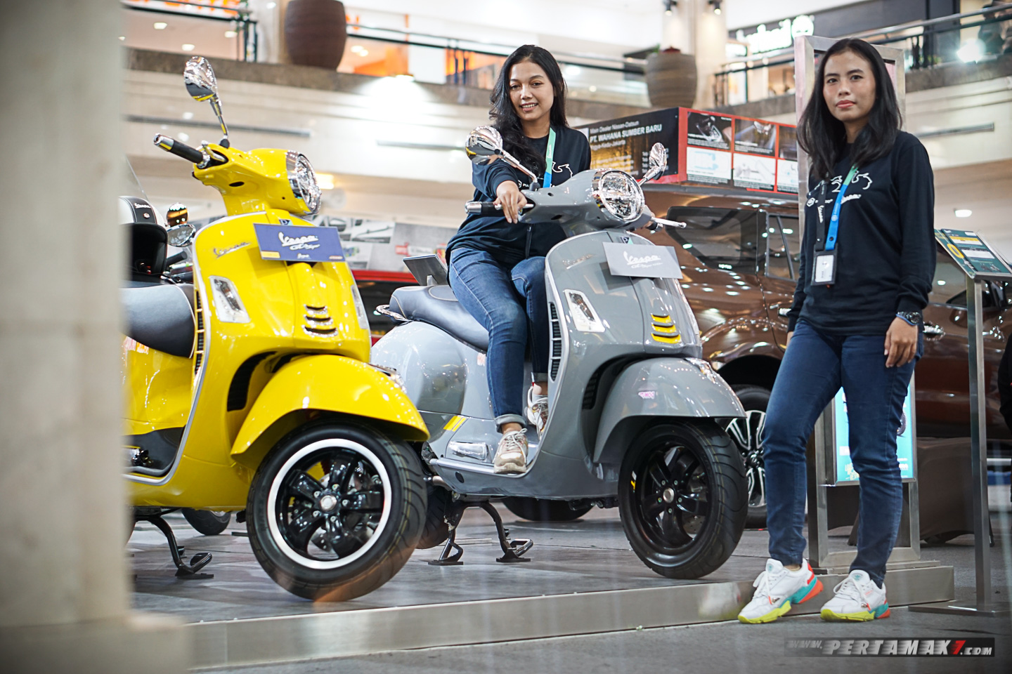 Bertemu Vespa GTS Super Tech 300
