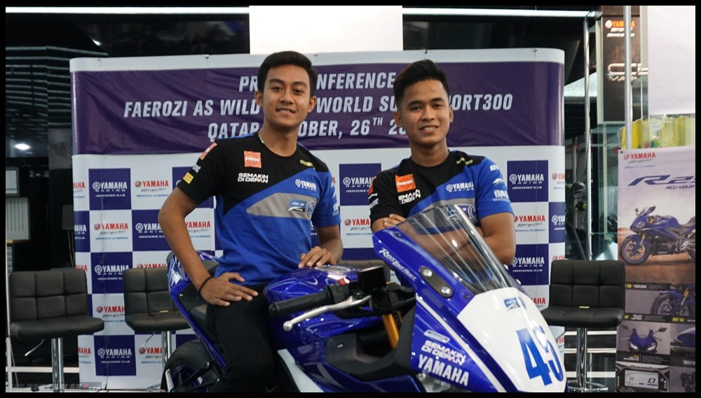 Duet Pebalap Indonesia di Final WorldSSP 300 Qatar 1 P7