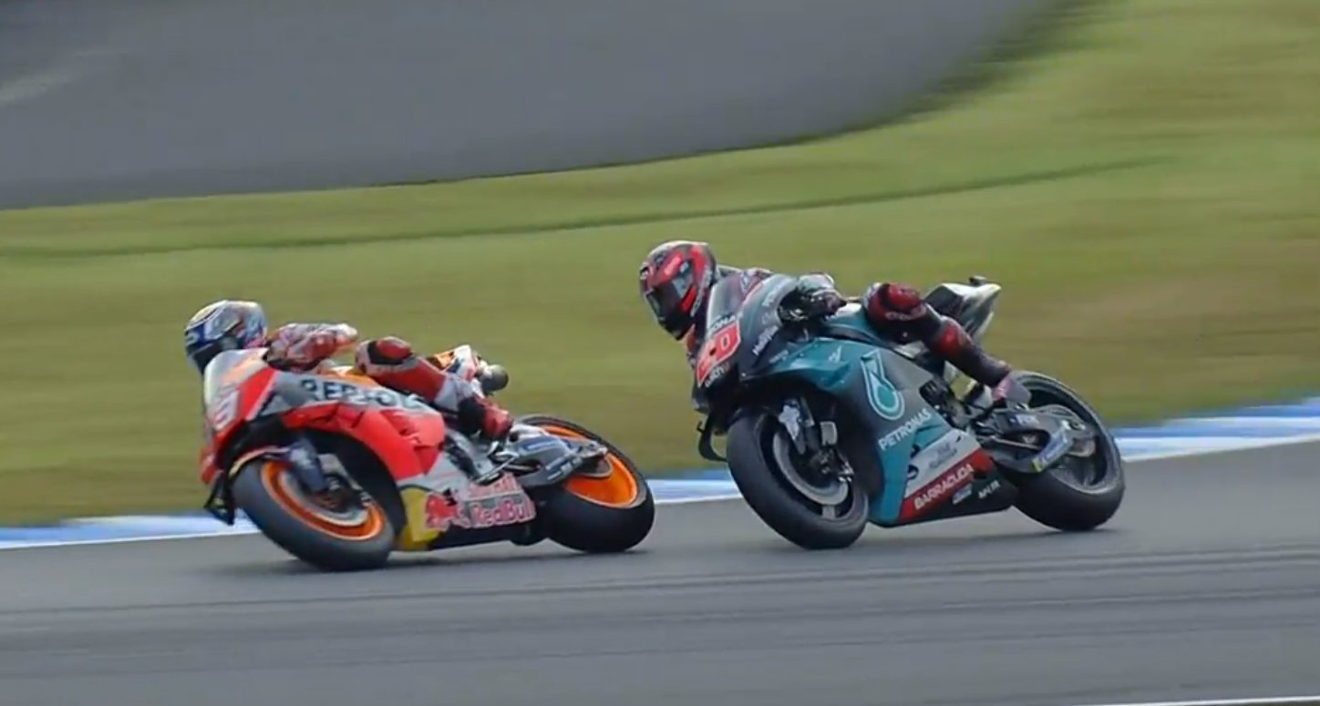 Marc Marquez VS Fabio Quartararo MotoGP Motegi Japan 2019