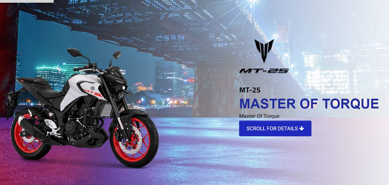 Pilihan Warna Yamaha New MT25 Facelift 2020