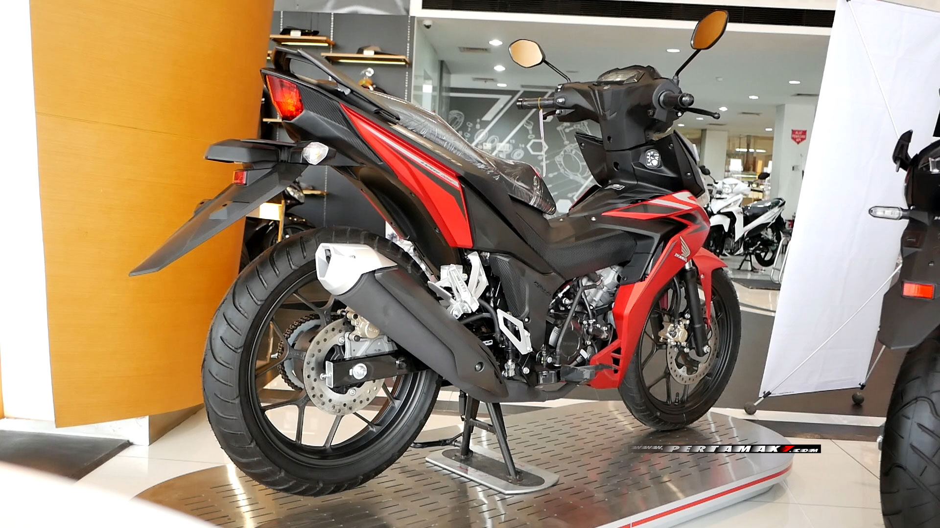 Video Bertemu New Honda Supra GTR 150 Facelift 2020 MMC Jogja