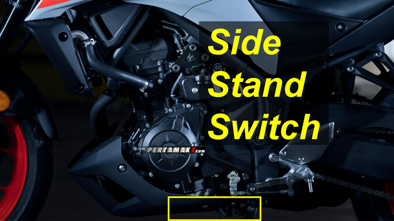 Yamaha New MT25 Pakai Side Stand Switch