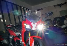 headlamp TVS Apache RR 310