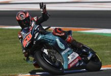 Fabio Quartararo Valencia MotoGP Test Session-1 2019