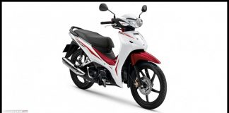 Honda New Wave 110i CW White Red